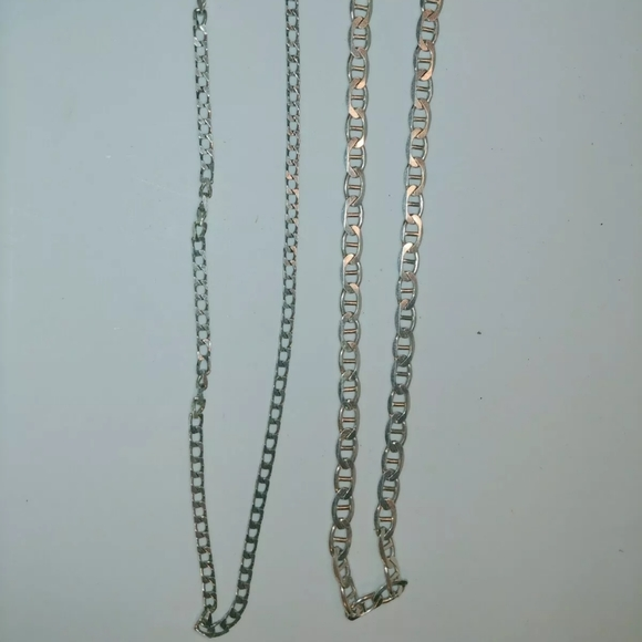 Unknown Other - 925 Silver Chain Necklaces Italy Metal Jewelry